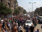 أهالى المنوفية يفرقون مسيرة للإخوان لهتافها ضد الجيش والشرطة