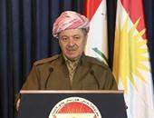 الزعيم الكردى بارزانى: لا يمكن لأحد إنكار حقيقة تحطم أسطورة داعش على أيدى البيشمركة