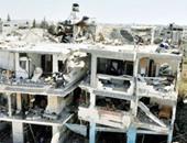 المرصد: التلفزيون الرسمى السورى بث تقريرا خاطئا بشأن غارة