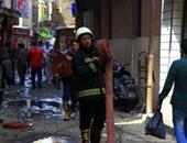 السيطرة على حريق هائل داخل منزل بقرية كفر الشيخ فى الغربية