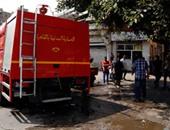 انتقال 25 سيارة إطفاء للسيطرة على حريق هائل بمصنع زيوت فى منطقة الأزهر