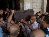 تشييع جنازة الفنان الكوميدى الراحل يوسف عيد من مسجد السلام