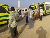 ننشر أسماء ضحايا حادث تصادم سيارتين على طريق الإسماعيلية - الزقازيق