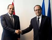 بدء أعمال القمة المصرية الفرنسية بقصر الإليزيه