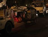 بالفيديو والصور.. مصرع وإصابة 15 فى حادث تصادم بطريق أوتوستراد المعادى
