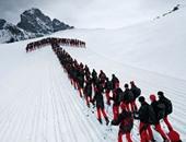 ارتفاع حصيلة ضحايا التزلج فى جبال الألب السويسرية إلى 6 أشخاص