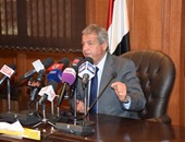 خالد عبد العزيز يشهد المباراة الافتتاحية لدورى مراكز شباب القاهرة