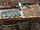 ضبط 27 قطعة سلاح نارى بحوزة 27 متهما فى حملة الأمن العام
