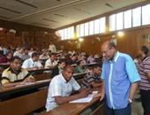 281 معلماً بسوهاج يؤدون اختبارات اارلتحاق بكلية التعليم الصناعى