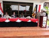بالصور.. وفد عسكرى يشارك فى افتتاح مكتب الملحق العسكرى المصرى بأوغندا