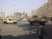 """مدرعات الجيش تعود إلى محيط المتحف المصرى تمهيداً لفتح """"التحرير"""""""