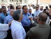 بالصور.. وزير الإسكان ومحافظ سوهاج يتفقدان المشروعات السكنية بالمحافظة
