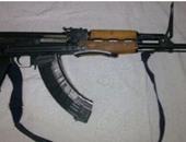 ضبط عاطل بحوزته بندقية ألية مبلغ بسرقتها من قسم شرطة دمنهور فى ثورة يناير