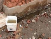 """المياه الجوفية تُهدد منازل أهالى قرية """"شبرابيل"""" فى الغربية بالانهيار"""
