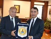 رئيس جامعة الإسكندرية يستقبل القنصل الفرنسى لبحث العلاقات المشتركة