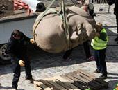 بعد عرضه فى سويسرا.. تمثال لينين يعود إلى برلين