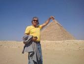 رابح ماجر: ما حدث فى الأهرامات شيء جميل يجسد تاريخ مصر