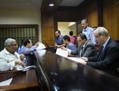 توافد راغبى الترشح للبرلمان على محكمة جنوب القاهرة لتقديم الكشف الطبى