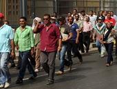 متظاهرو الخدمة المدنية يتهمون الشرطة بمنع وصول المتضامنين لحديقة الفسطاط