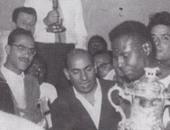 صورة نادرة.. أول كأس أمم أفريقية للفراعنة عام 1957 بالسودان