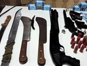 القبض على 9 متهمين بحوزتهم أسلحة بيضاء فى الإسماعيلية