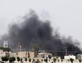 انفجارات ضخمة فى صنعاء جراء غارات شنها طيران التحالف
