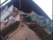 انهيار منزل من 3 طوابق بطنطا.. والحماية المدنية تبحث عن ضحايا تحت الأنقاض