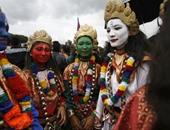 بالصور.. نيبال تواصل احتفالاتها بإقرار الدستور الجديد