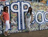 بالصور.. العراقيون يحيون اليوم العالمى للسلام بالرسوم الجدارية