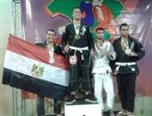 مصرى يفوز بالمركز الثانى فى البطولة الدولية للفنون القتالية بالبرازيل
