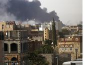 التحالف العربى يقصف مخازن أسلحة ومواقع عسكرية للحوثيين بصنعاء