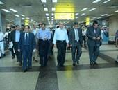 930245a7a وزير الطيران يتفقد المطار استعدادًا لموسم الإجازات وعودة الحجاج
