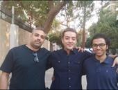 رواد مواقع التواصل يتداولون صورة لصحفيى الجزيرة بعد الإفراج عنهم