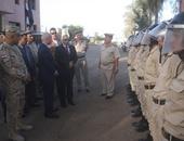 بالصور.. محافظ المنوفية ومدير الأمن يتفقدان قوات الشرطة عقب صلاة عيد الأضحى