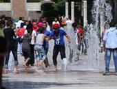 إقبال كبير من المواطنين على الحدائق العامة فى عيد الأضحى