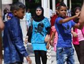 بالصور.. فرحة الأطفال بأول أيام عيد الأضحى فى متنزهات القاهرة والجيزة