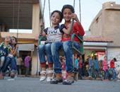 رغم التشرد والدمار..  أطفال سوريا يتحدون الحرب ويحتفلون بعيد الأضحى