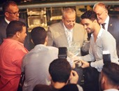 بالصور.. حفل ناجح وتكريم أحمد جمال بالمنصورة