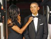 ميشيل أوباما: زوجى ظل يرتدى نفس بدلته لمدة 8 سنوات دون أن يلاحظ أحد