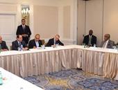 بدء لقاء الرئيس السيسى بعدد من المفكرين والسياسيين الأمريكيين