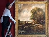 """لوحة """"القفل"""" للفنان """"كونستابل"""" تذهب إلى """"سوثبى""""  لأول مرة بعد 160 عاما"""