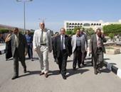 """بالصور.. رئيس جامعة طنطا يتفقد كليات المجمع الطبى و""""سبرباى"""""""