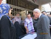 بالصور.. محافظ بورسعيد: استمرار تشطيب 37 مدرسة دون تعطيل الدراسة