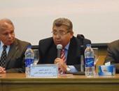 مدير أمن الكلية التكنولوجية بقويسنا يمنع الصحفيين من تغطية زيارة أشرف الشيحى