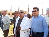بالصور.. وزير الرى يتفقد مشروع قرية الأمل بمنطقة شرق قناة السويس