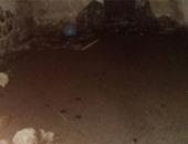 صحافة المواطن.. عمارة بشارع عماد الدين مهددة بالانهيار بسبب المياه الجوفية