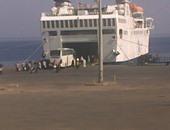 استقبال 370 راكب لميناء نويبع و تداول 112 شاحنة
