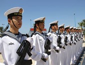 البحرية الصينية تنقذ اثنين من طاقم سفينة منغولية تعرضت للغرق