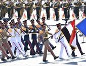 بالصور.. سرية من القوات المسلحة المصرية تزيّن العرض العسكرى فى بكين