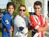 سعد الصغير يهنئ نجله على انضمامه إلى فريق الرجاء بالدورى الممتاز